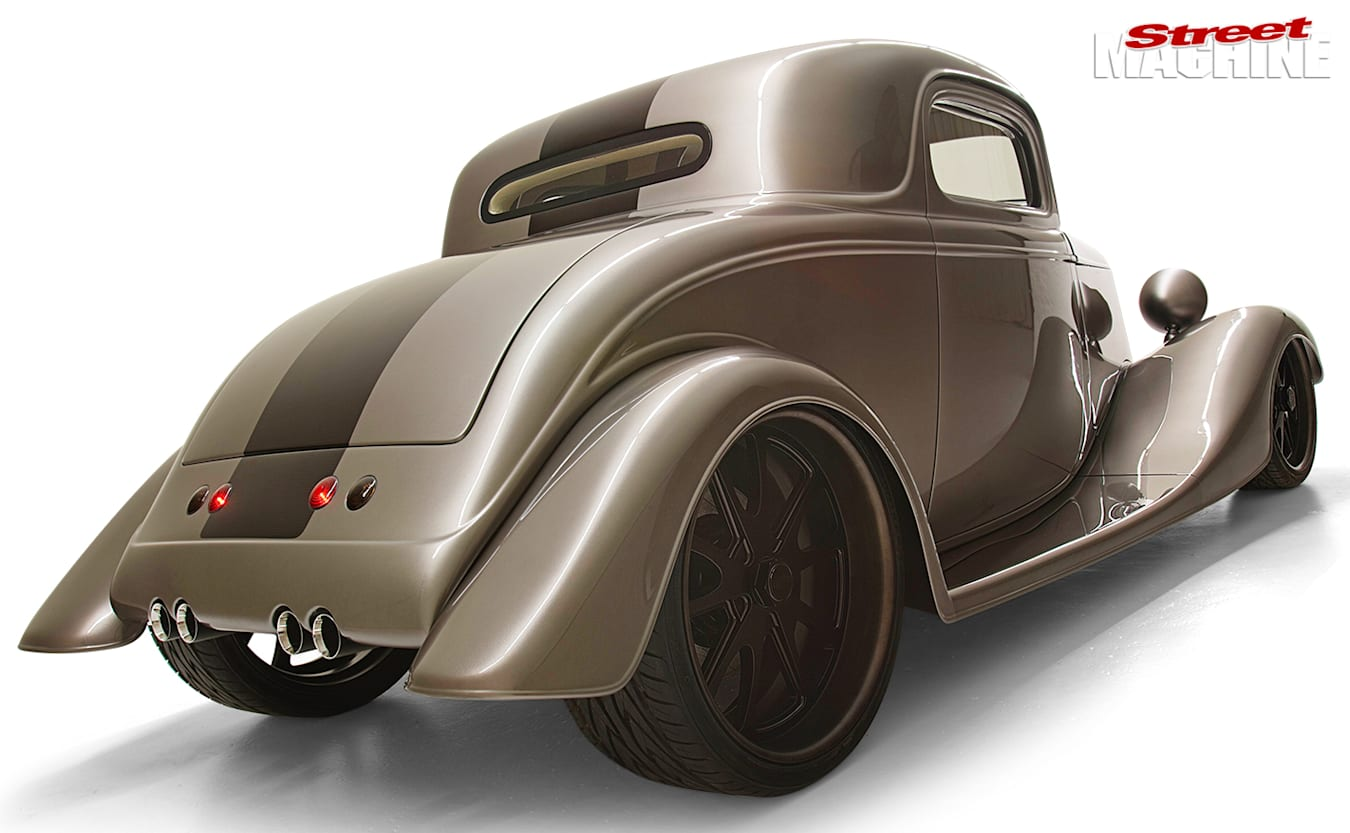 1933 Ford Coupe rear