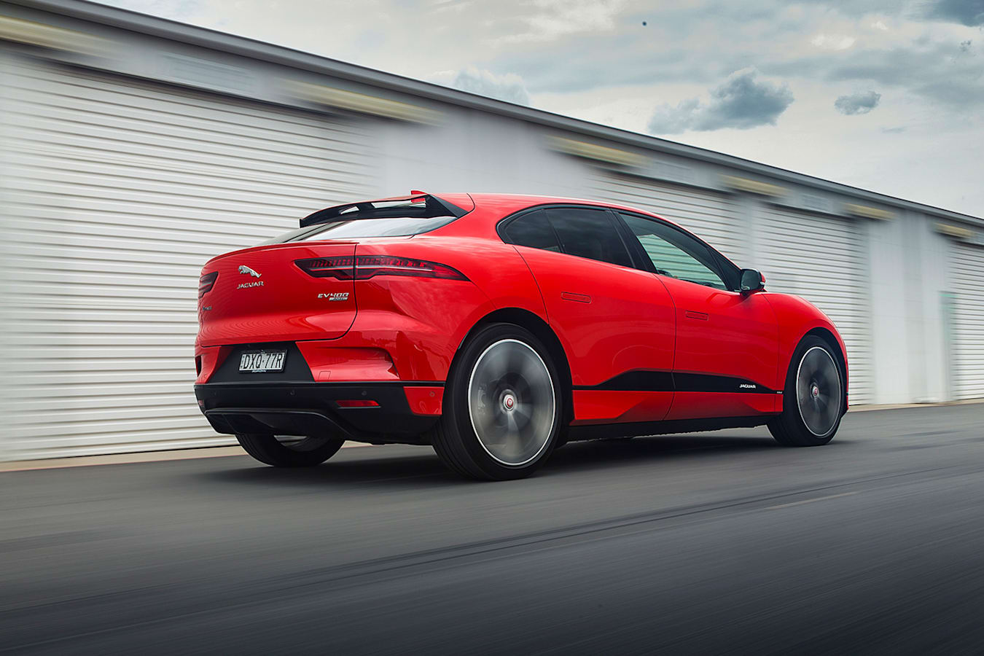 Jaguar I Pace Rolling Jpg