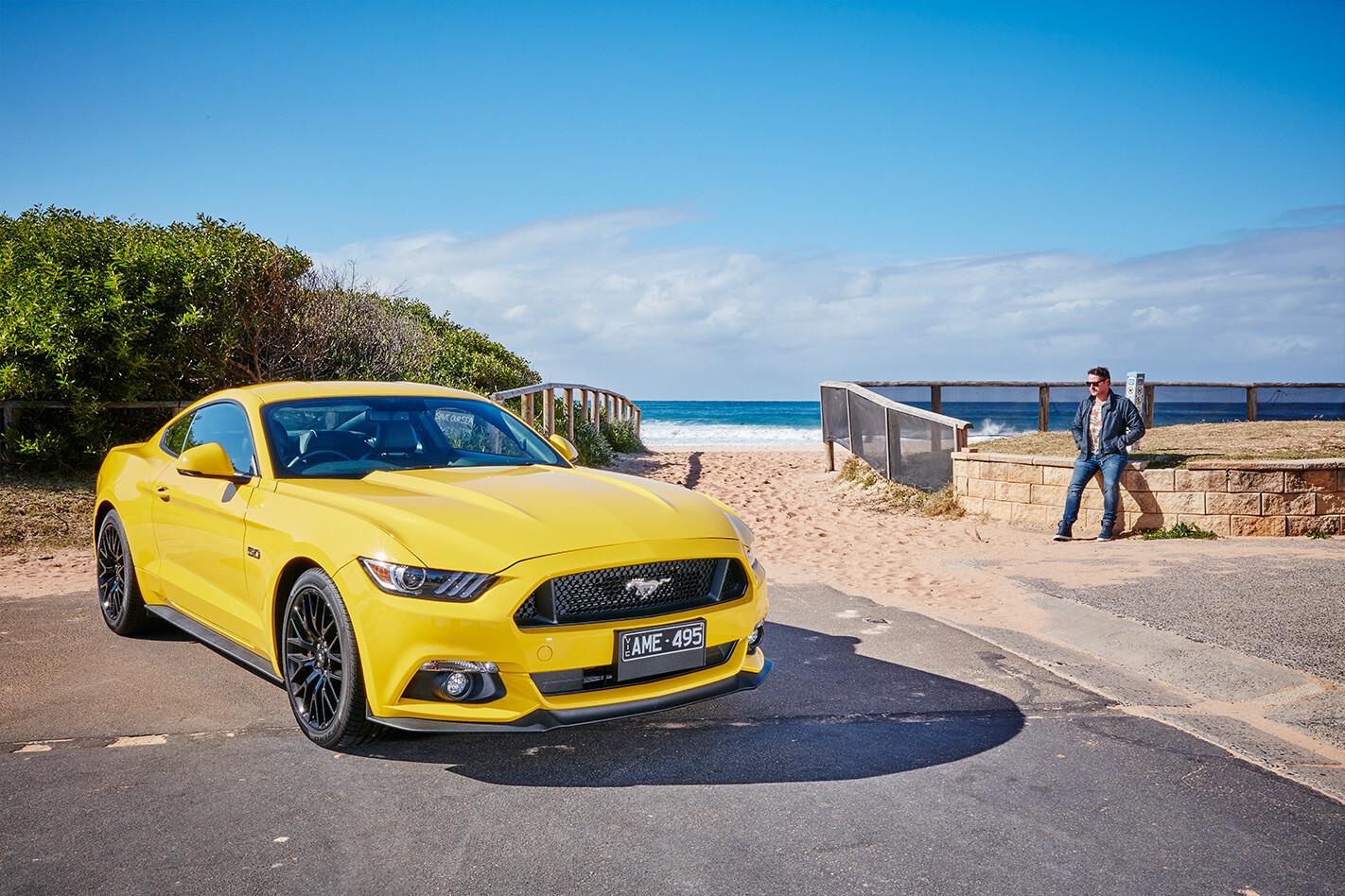 Ford Mustang Loan Front Quarter Jpg