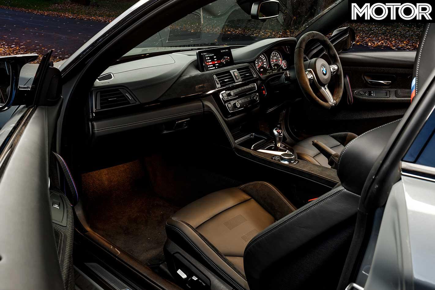 2018 BMW M 4 CS Interior Jpg
