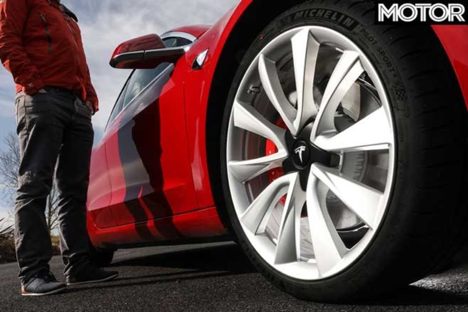 Tesla Model S brakes