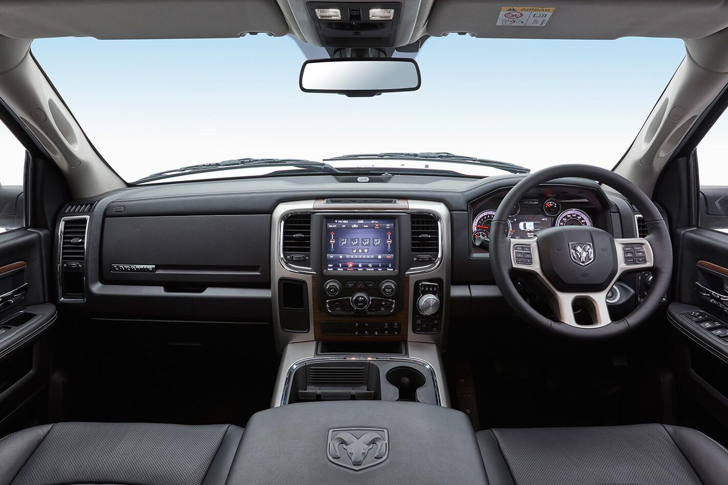 2018 Ram 1500 Laramie interior