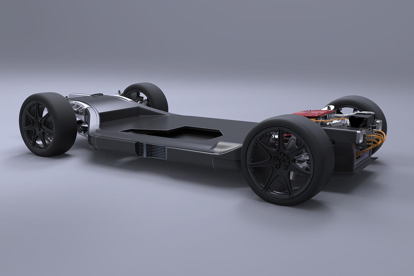 Williams electric supercar platform