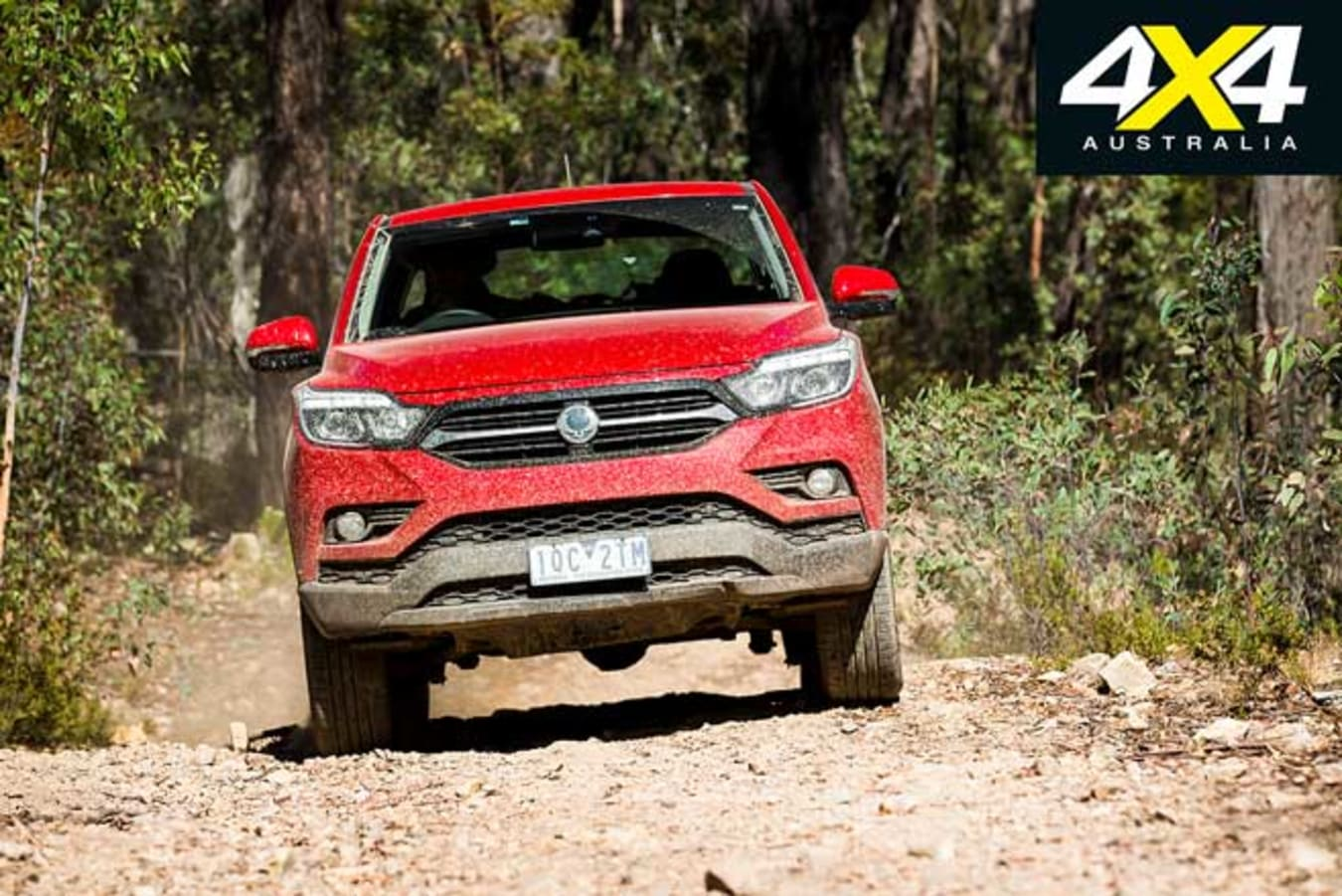 2020 4 X 4 Of The Year Ssangyong Musso XLV Ultimate Trail Driving Jpg