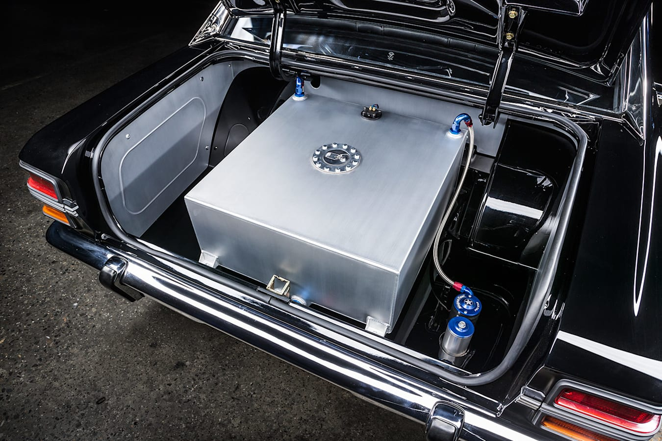 Ford Falcon XY boot