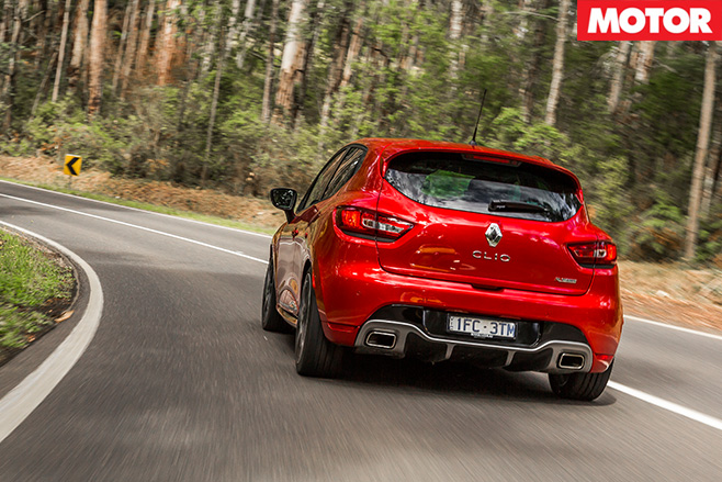 Renault Sport Clio Trophy rear driving
