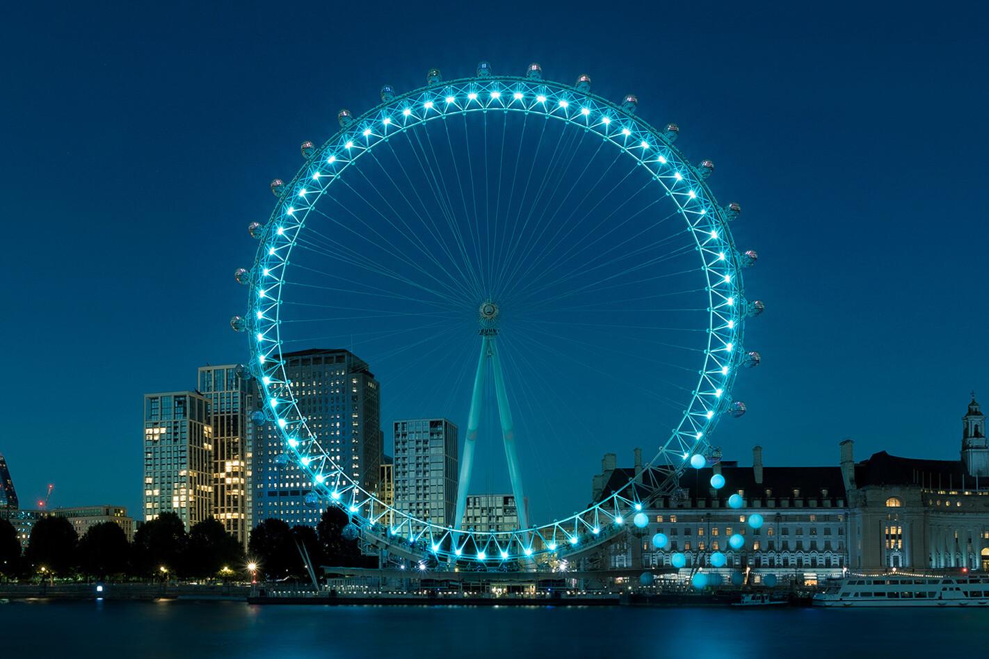 Hyundai Ioniq range London Eye