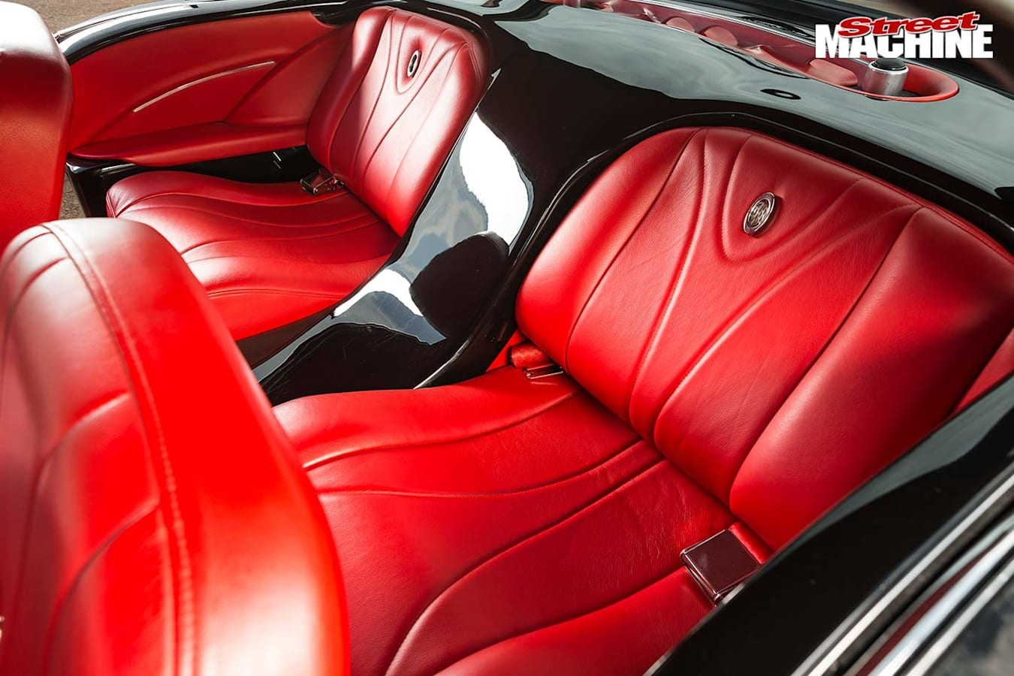 Buick Special interior rear
