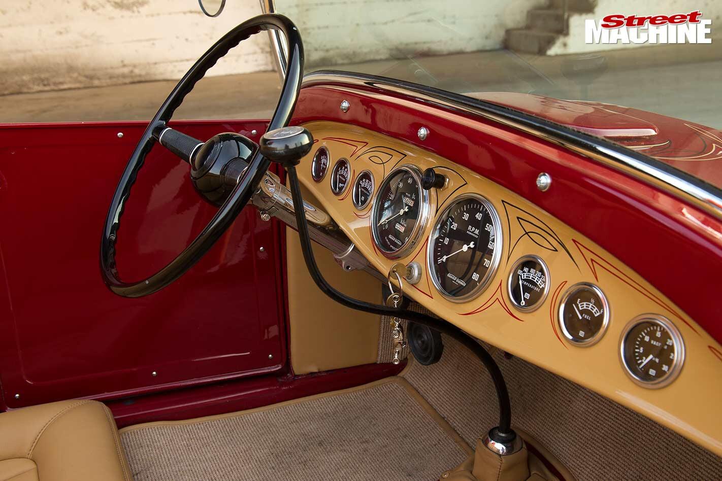 Ford Model T dash