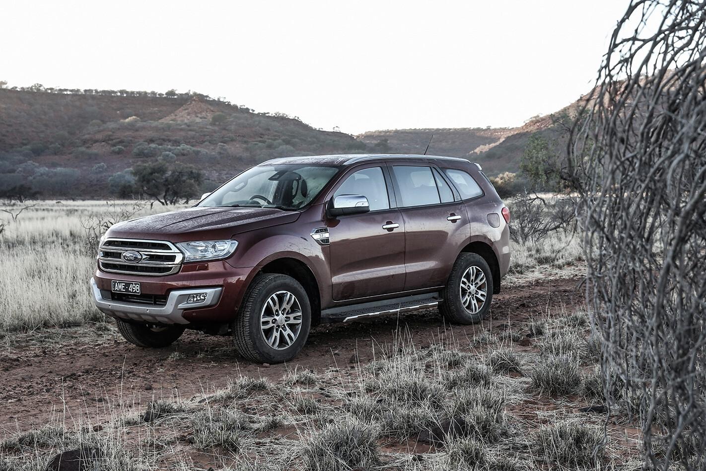Ford Everest titanium