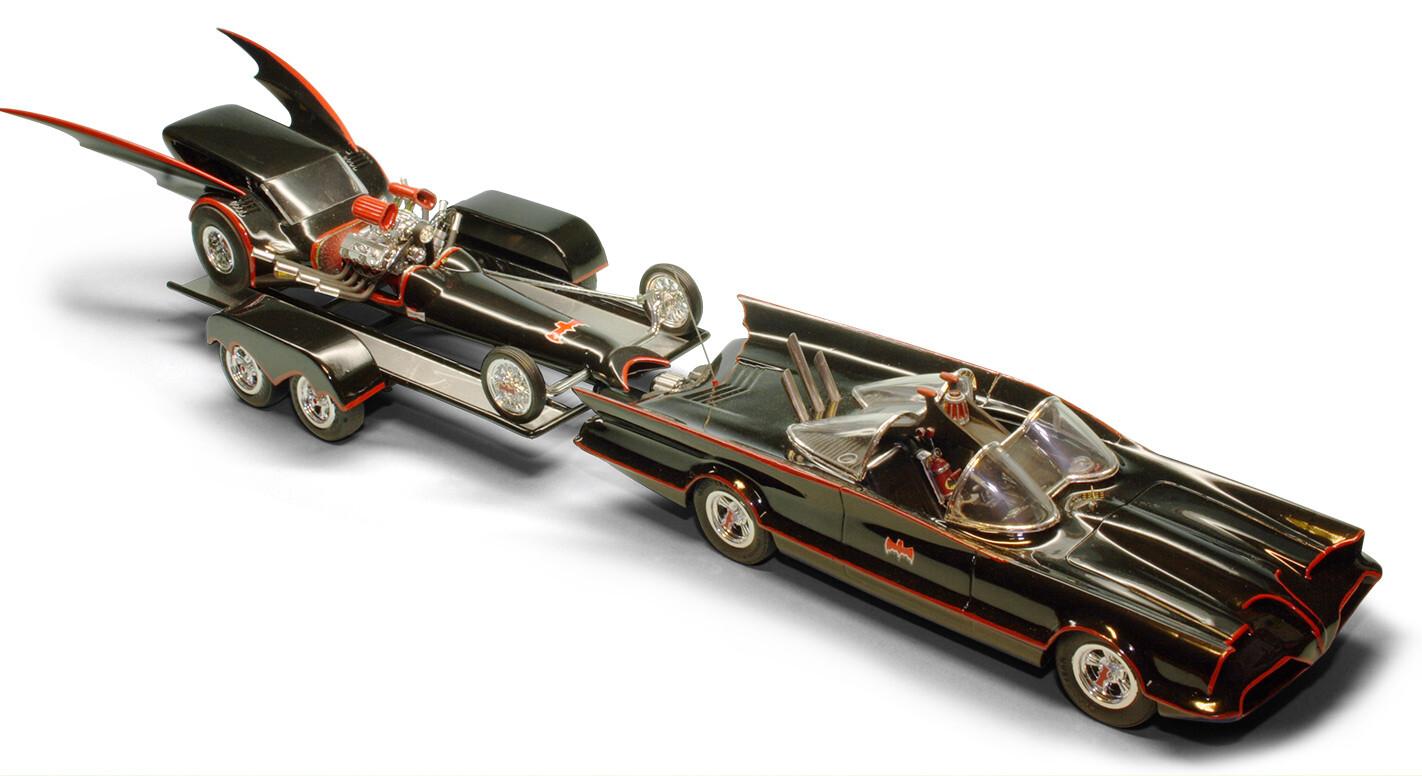 Batman model car