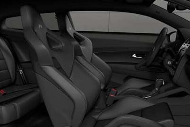 Volkswagen Scirocco R Wolfsburg edition interior