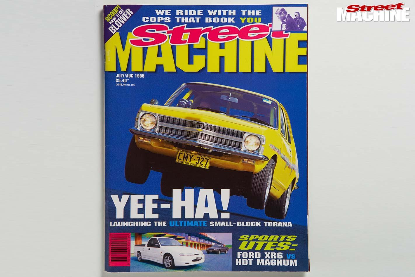 Street Machine cover