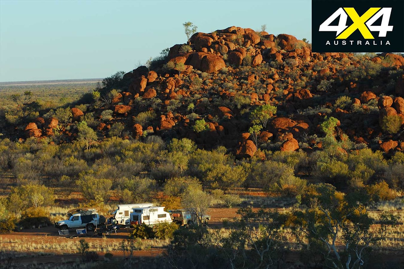 Camping By Tower Rock Jpg