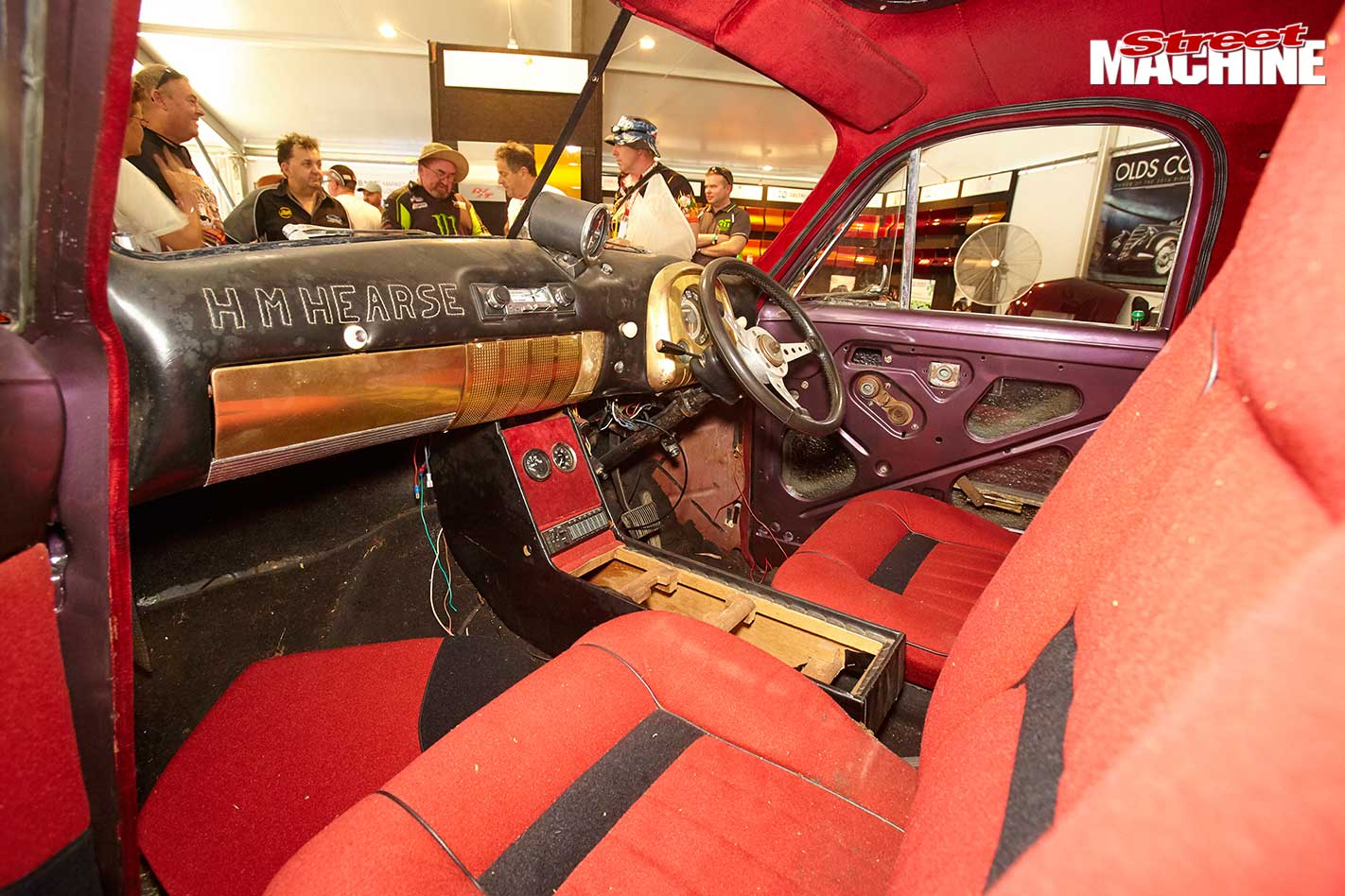 Humpy Mekka Holden FJ hearse