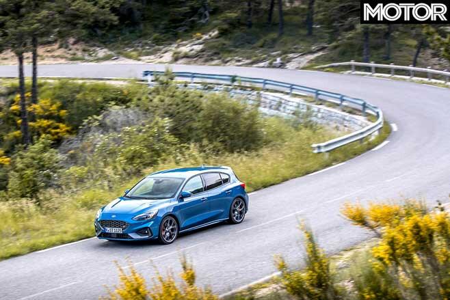 2020 Ford Focus ST Cornering Jpg