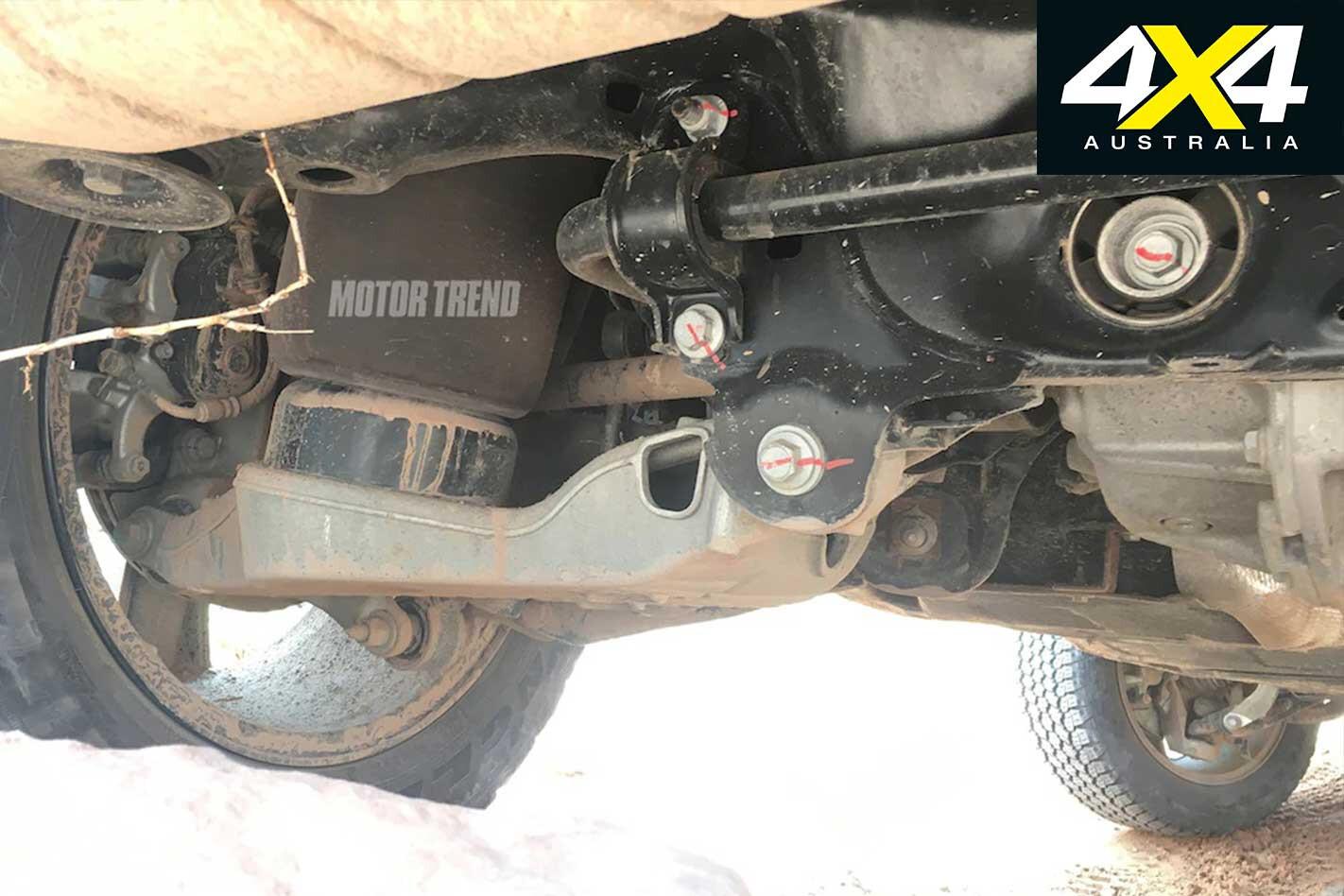 2020 Land Rover Defender suspension