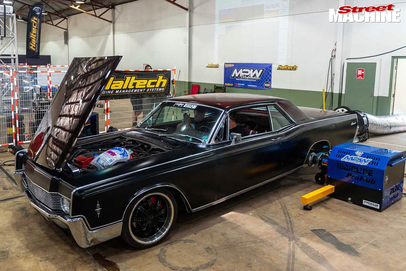barra powered 1966 lincoln continental