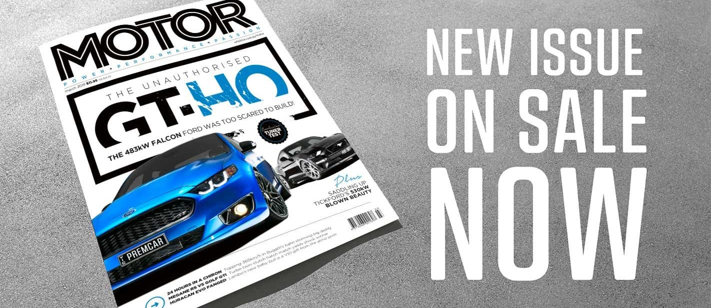 MOTOR Magazine March 2019 issue preview
