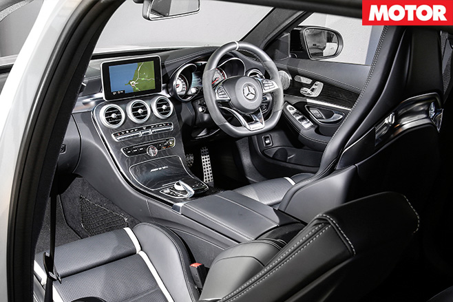 Mercedes-AMG C63 S Estate interior