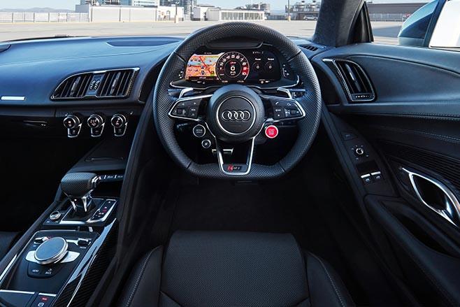 2020 Audi R8 Performance interior