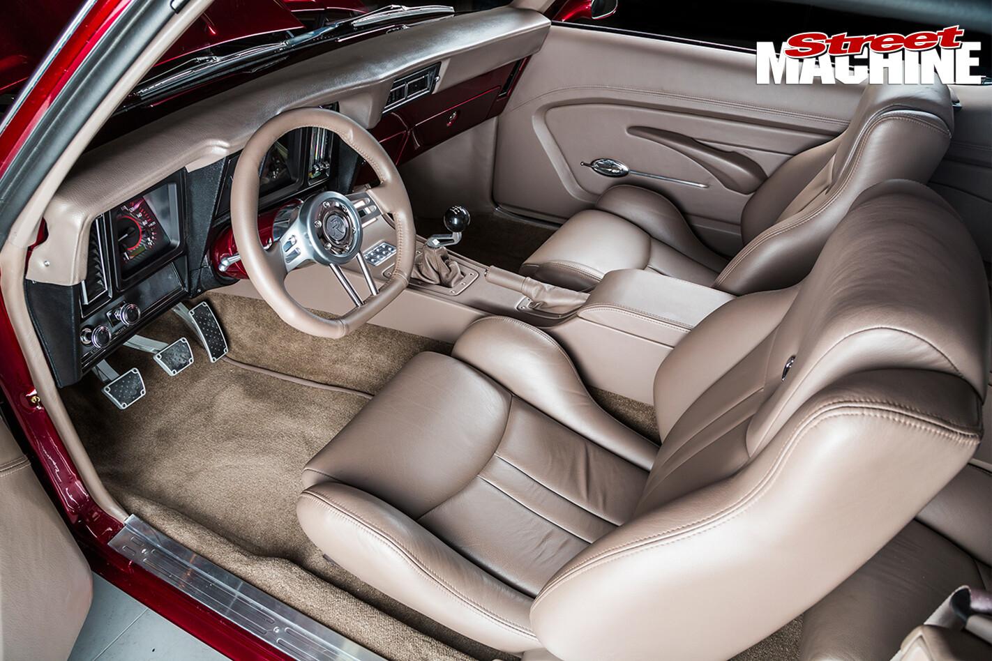 Chevrolet -Camaro -RS-interior