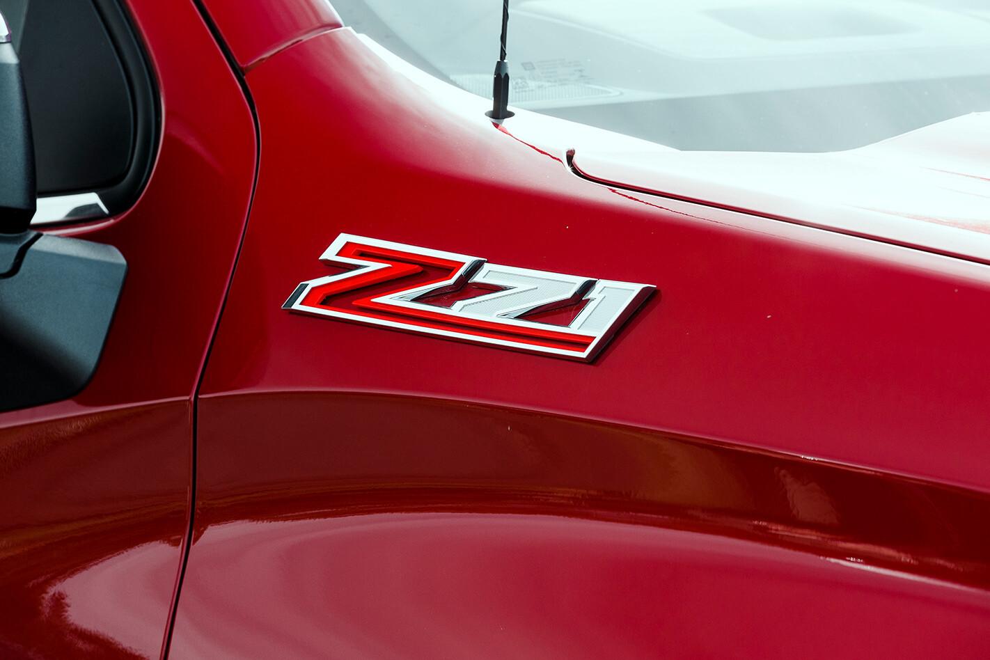 chev silverado zl1 badge