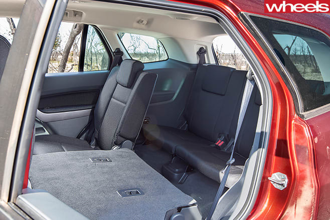Ford -Everest -rear -seats