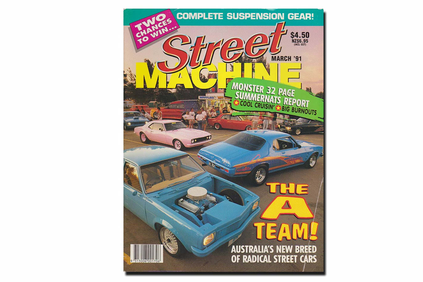 March 1991 Street Machine cover