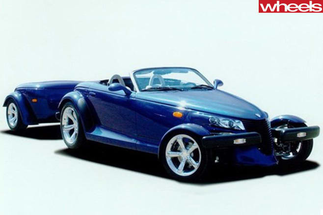 Plymouth -Prowler -with -trailer
