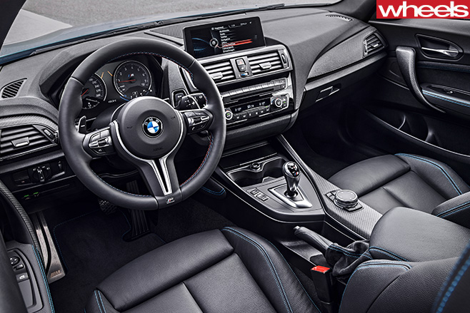 BMW-M2-front -seats -interior
