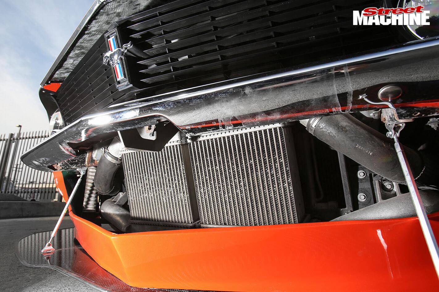 Ford -mustang -muzilla -grill -detail