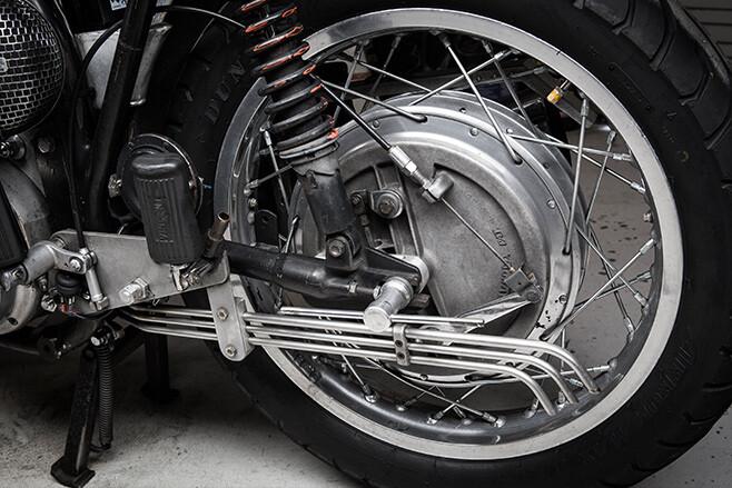 Norvin motorcycle wheel