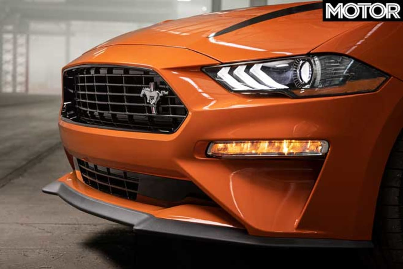 2020 Ford Mustang 2.3L High Performance front grille