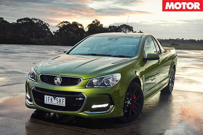 2016 Holden Commodore SS ute front