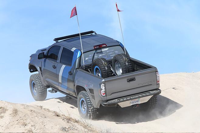 Toyota Tundra custom rear