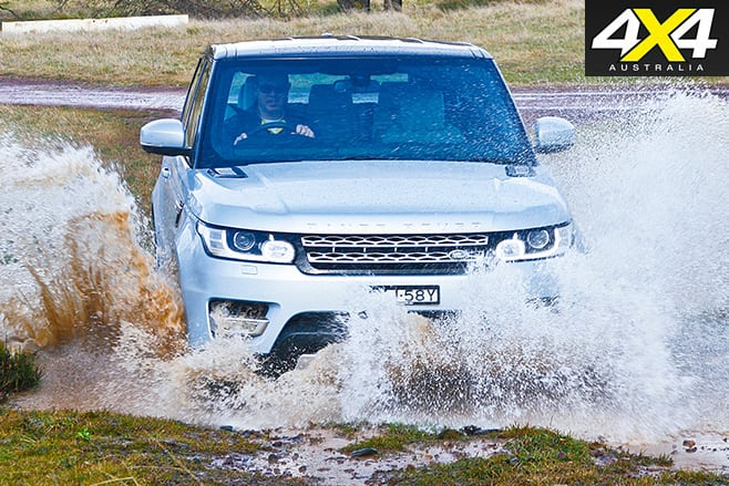 Range rover sport hybrid splash