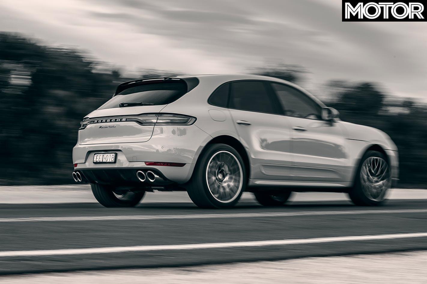 Porsche Macan Turbo onroad