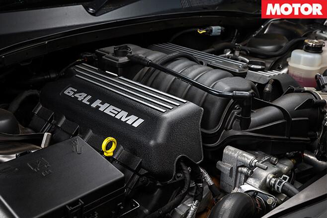 Chrysler 300 SRT 6.4L Hemi engine
