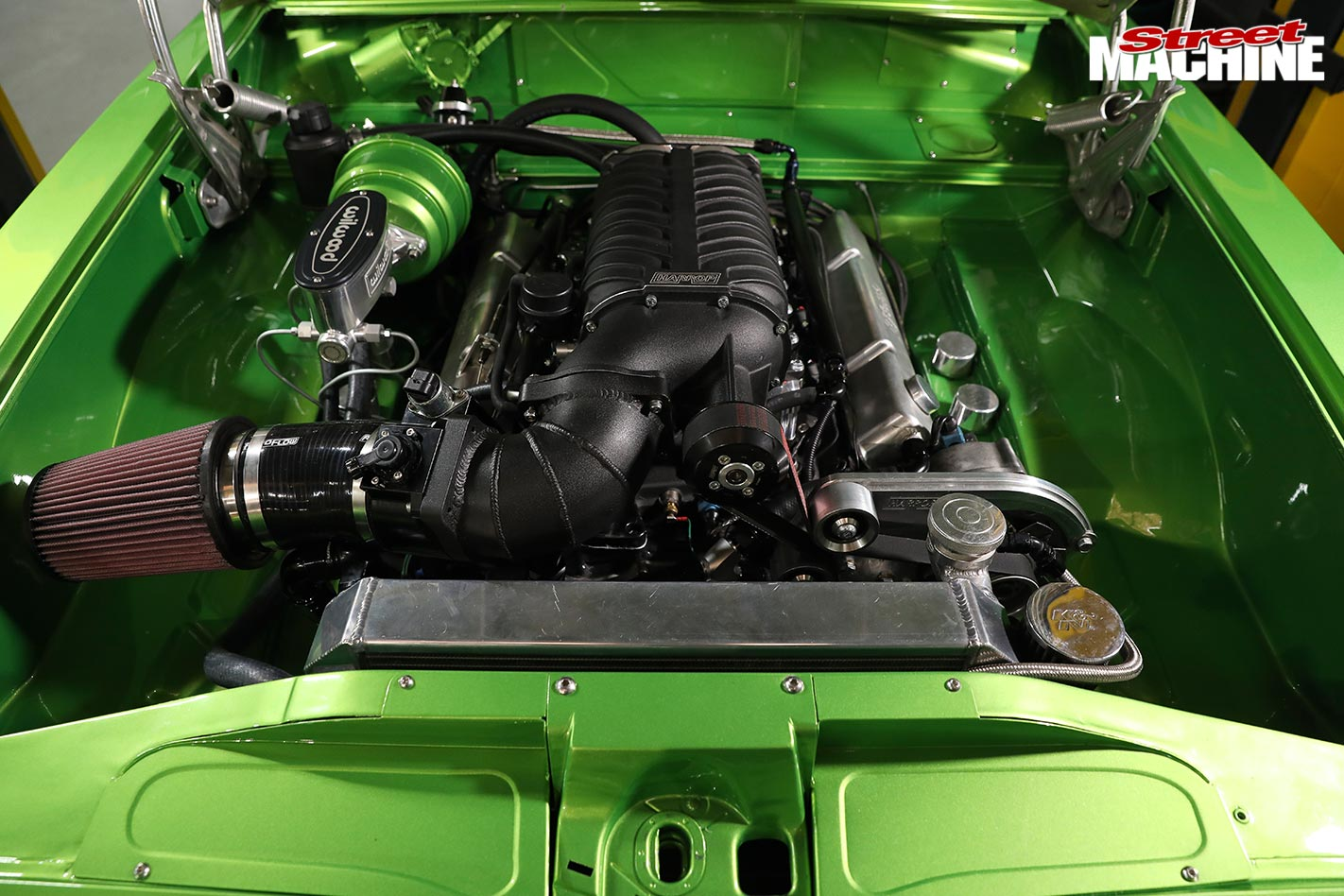 supercharging a Holden LC Torana