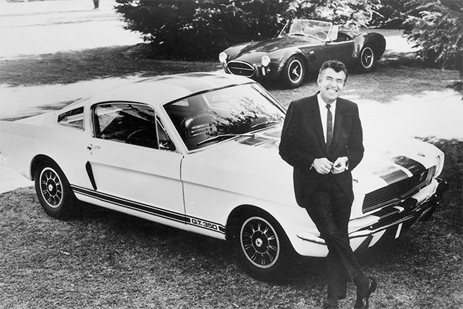 Carroll -Shelby -Ford -Mustang -GT350