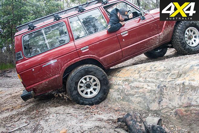 Technique 2 rock the steering wheel