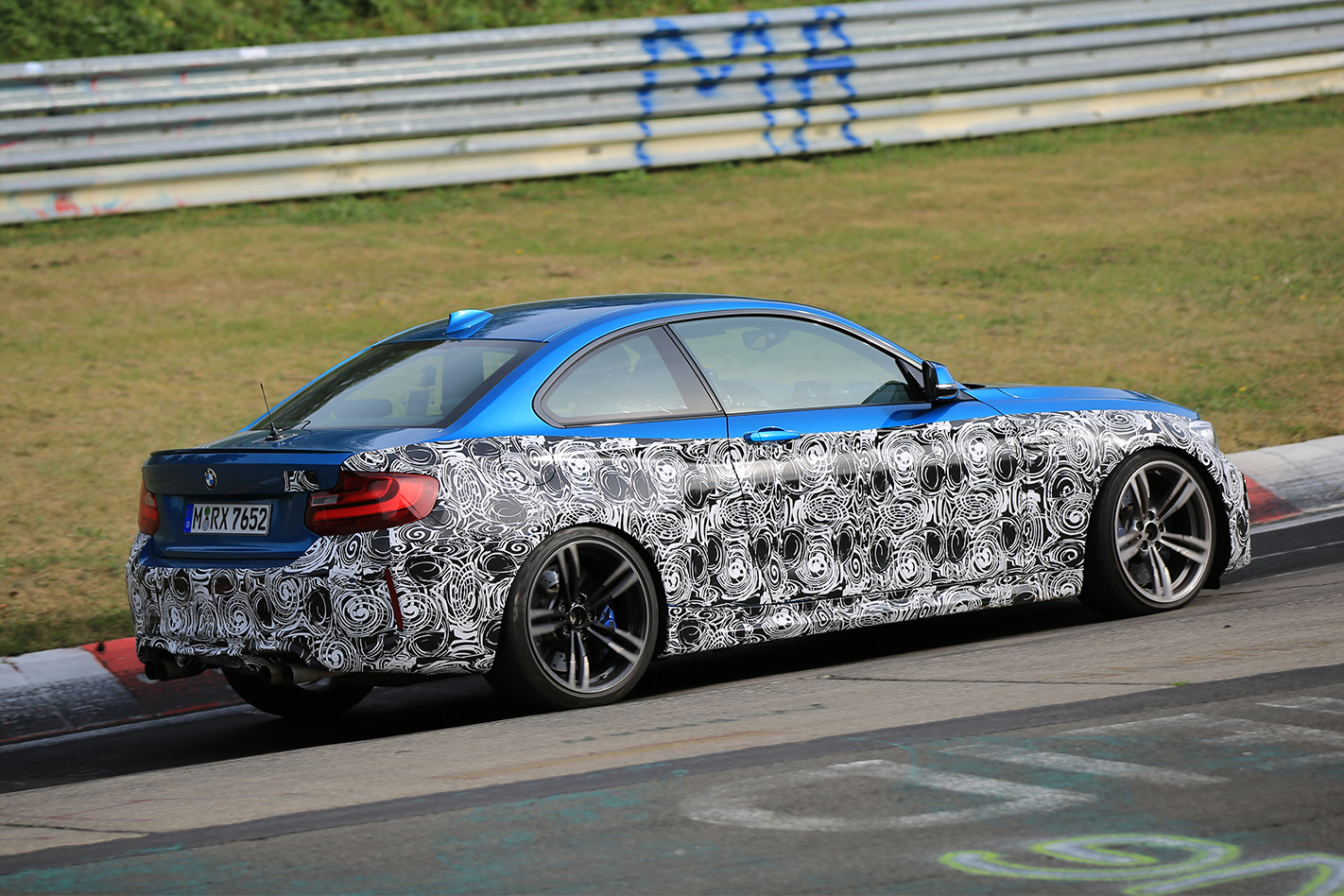 2018 BMW M2 Competition rear