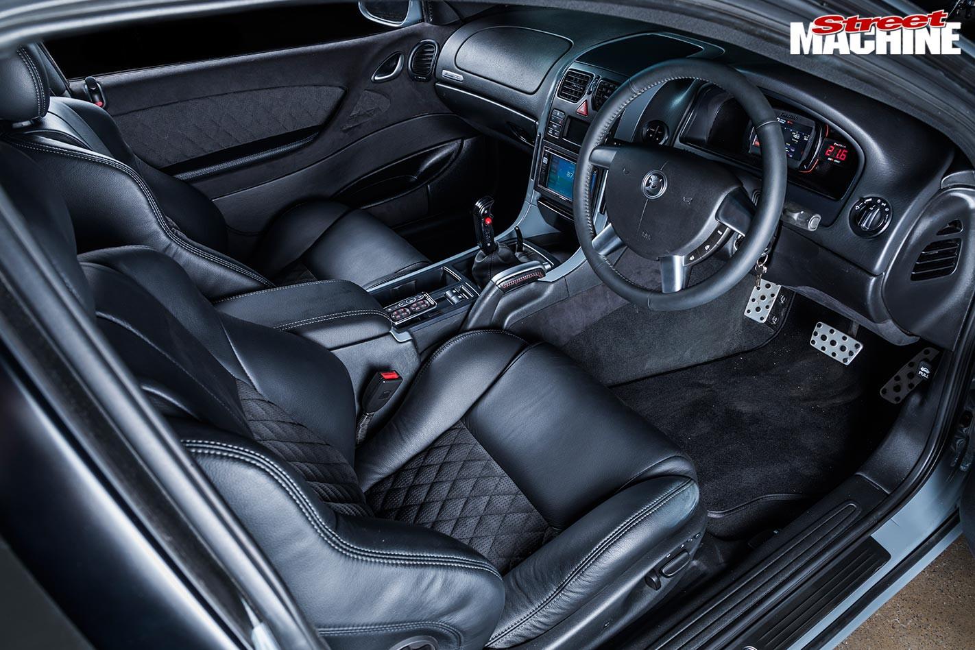 HSV GTO interior