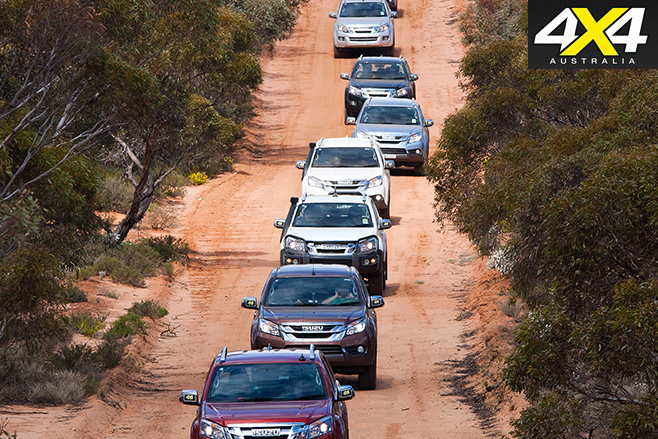 Drive 4 Life Outback NSW convoy