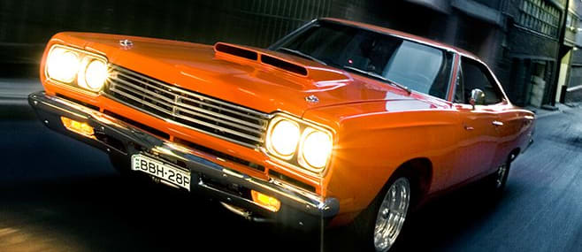 plymouth road runner onroad front