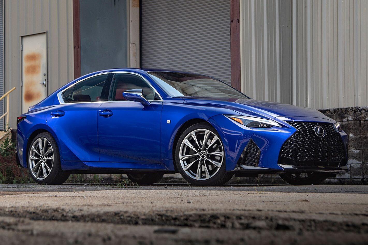 2021 Lexus IS Australia