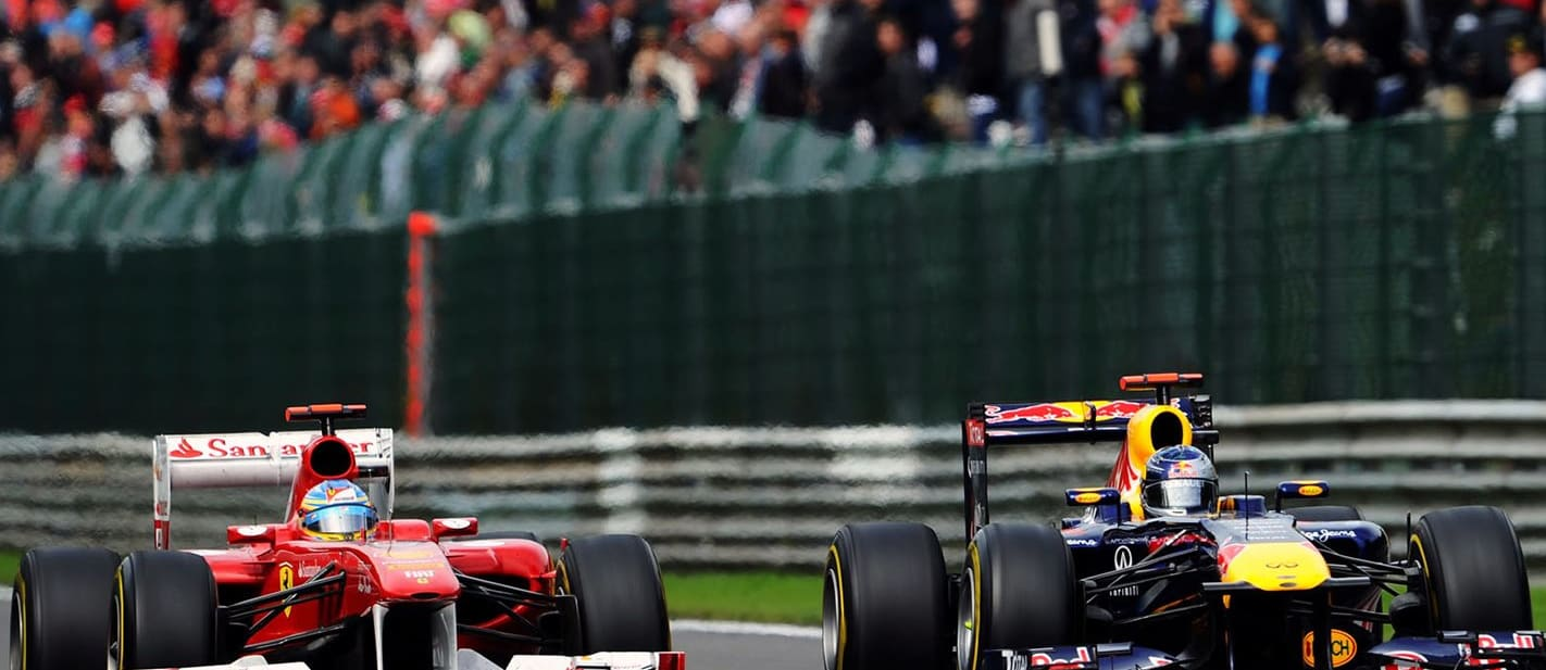 The best crashes and passes from Formula 1 at Spa-Francorchamps