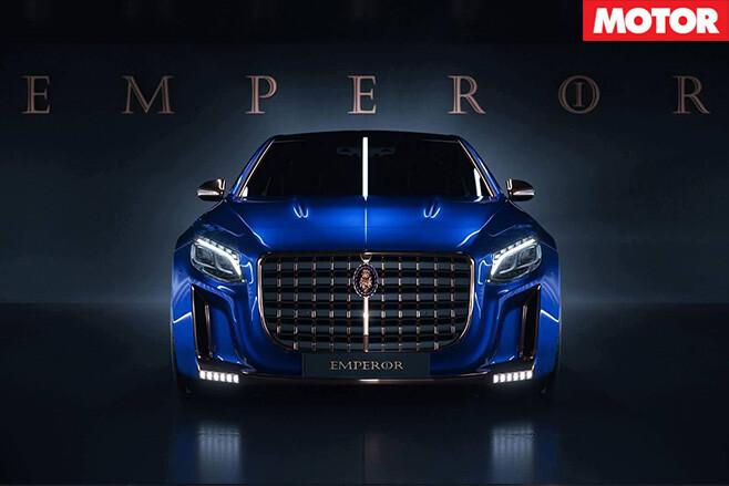 Mercedes Maybach S600 emperor front