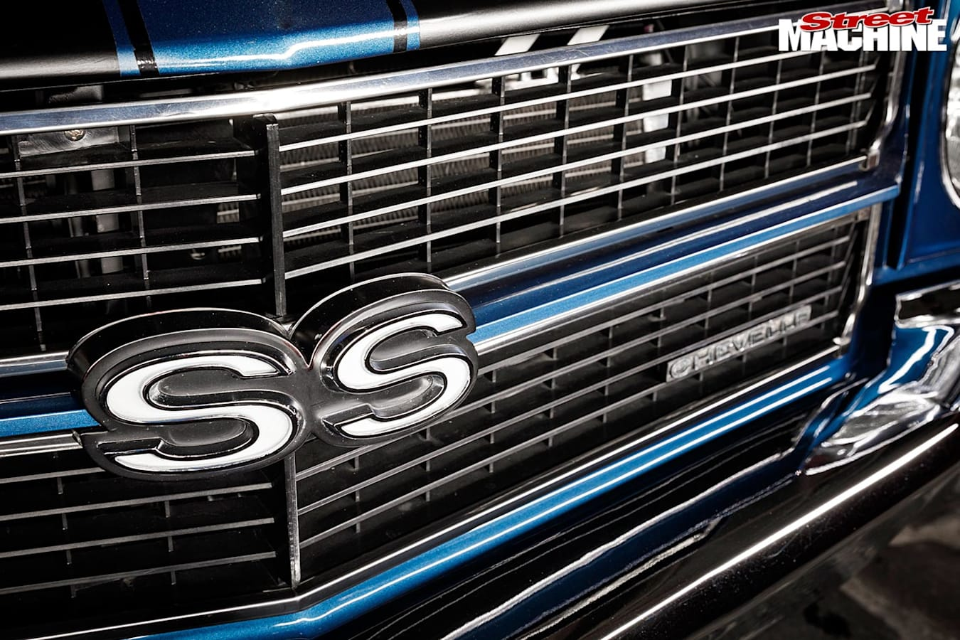 Chevelle SS grille